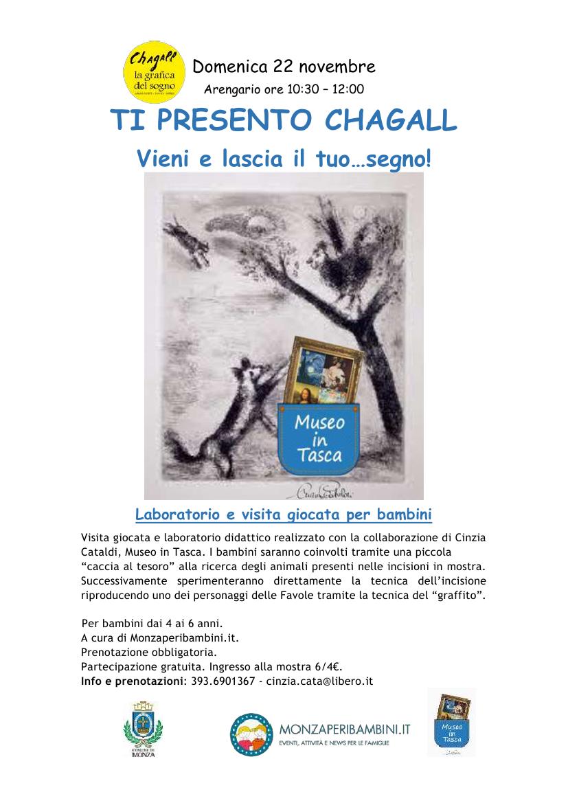 locandina chagall